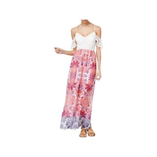 Trixxi Womens Juniors Maxi Dress Printed Full-Length (3 options available)