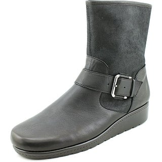 Aerosoles House Party Women  Round Toe Canvas  Mid Calf Boot
