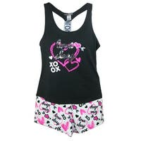 5 More Minutes Women's Tank and Short Pajama Set