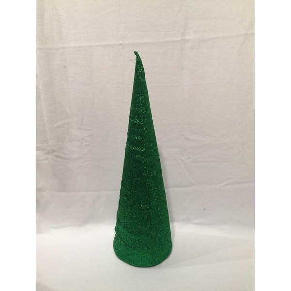"20"" Green Inflatable Christmas Tree Shaped Ornament"