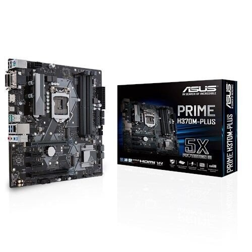 Asus - Motherboards - Prime H370m-Plus/Csm