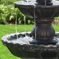 Sunnydaze 4-Tier Pineapple Fountain, 52 Inch Tall - Thumbnail 2