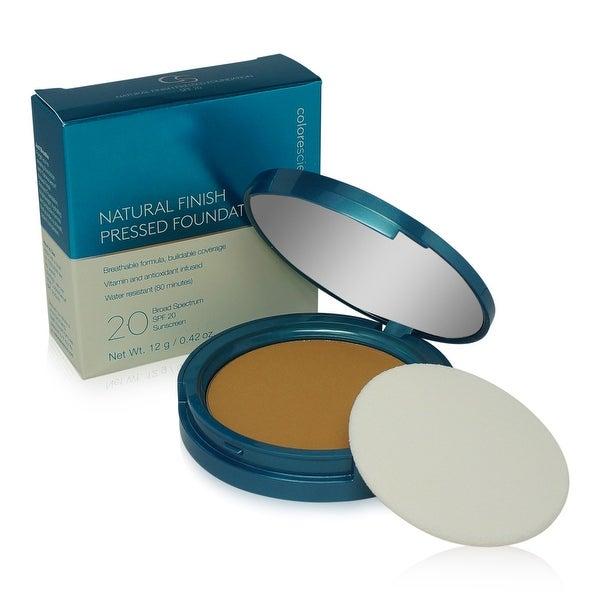Colorescience Finish Pressed Foundation SPF 20-Tan Golden 0.42 Oz