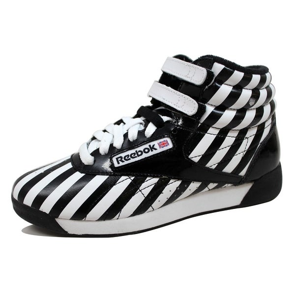 Reebok Women's F/S Hi Stripes/Black-White 2-362746
