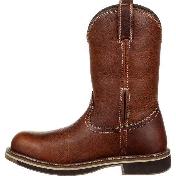 bceead2902e Shop Rocky Cody: Steel Toe Waterproof Pull-On Western Boot, #RKW0237 ...