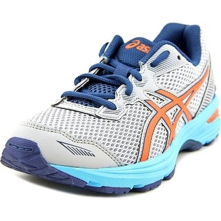 Asics GT-1000 5 Gs Youth Round Toe Synthetic Gray Running Shoe