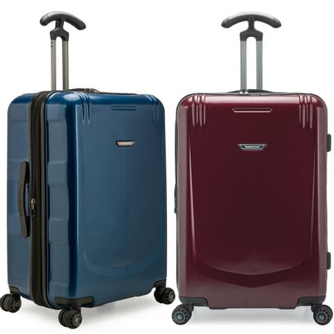 Palencia 26In Anti-Theft Medium Checked Hardside Expandable Spinner Luggage