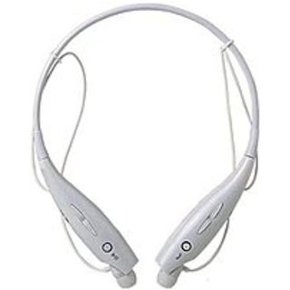 iPM IPMBLTNECK-W Noise-Cancelling Bluetooth Neckband Headset with (Refurbished)