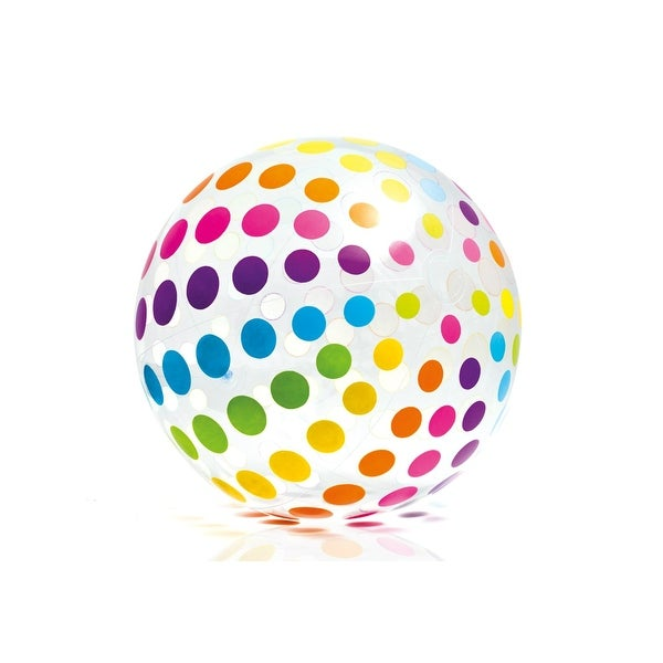 "Intex 59065EP Jumbo Beach Ball, 42"", Assorted Designs"