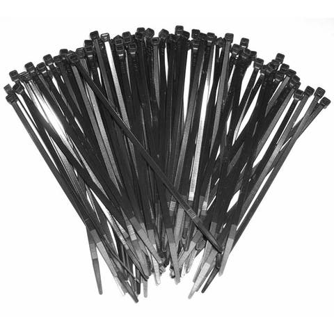Xscorpion ct15 15 black wire ties (100 pcs)