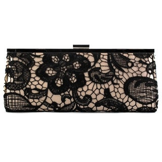 Style & Co Carolyn Lace Evening Bag    Lace  Evening Bag - Beige