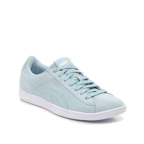 1fcb39b3ccd9 Shop PUMA Womens vikky aos Low Top Lace Up Walking Shoes - 10 - Free ...