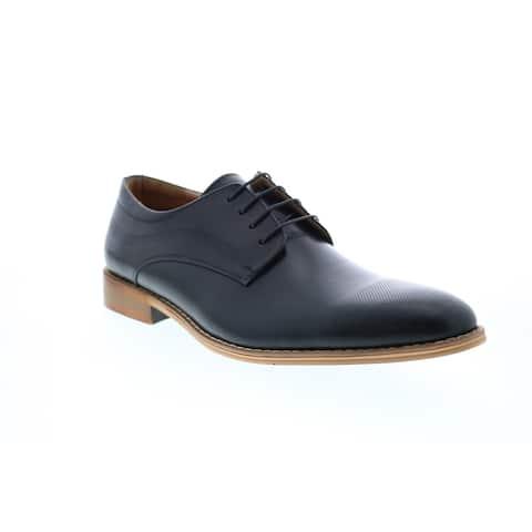 Giorgio Brutini Coolidge Black Mens Plain Toe Oxfords & Lace Ups