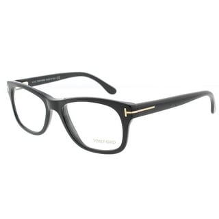 Tom Ford TF5147 001 52mm Shiny Black Unisex Eyeglasses - Shiny Black - 52mm-17mm-145mm