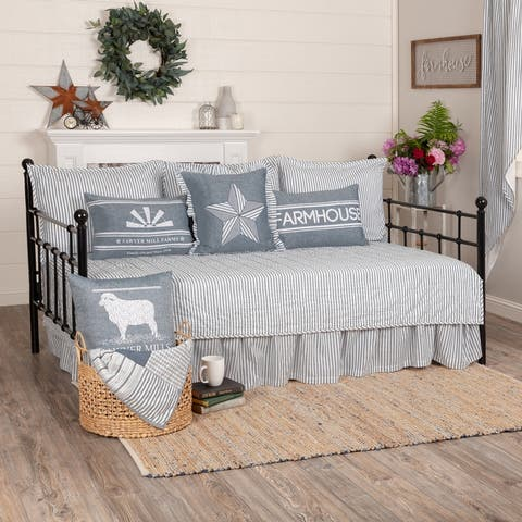 Sawer Mill 5pc Daybed Quilt Set - Daybed Quilt Set