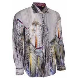 NEW Robert Graham Limited Edition The Harding City View Sport Shirt XL