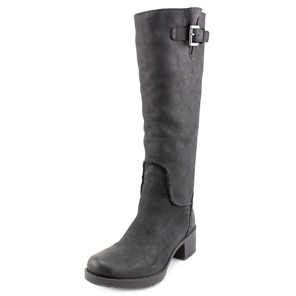Rockport Rola Tall Boot Women Round Toe Leather Knee High Boot