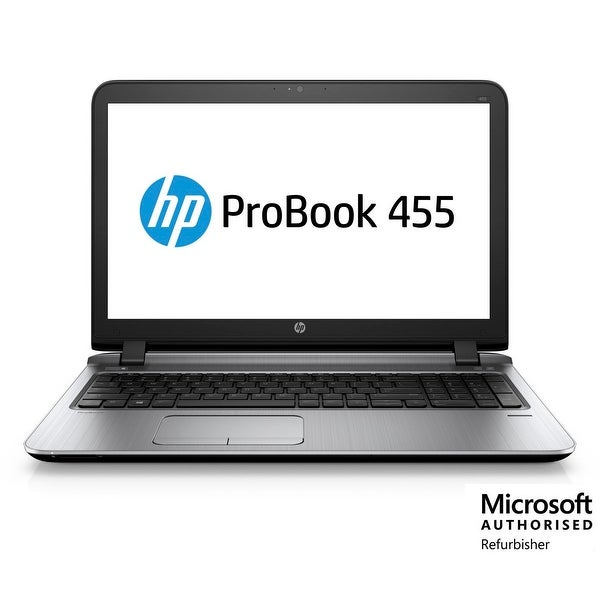 Refurbished HP 455 G3 AMD-A4-7210 1.8 8GB 500GB Windows 10 Pro