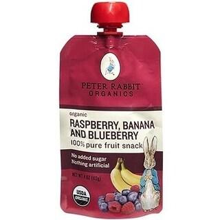 Peter Rabbit Organics - Raspberry, Banana & Blueberry Puree ( 10 - 4 OZ)
