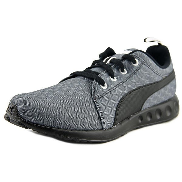 Puma Carson Runner 400 Jr Cube Youth Round Toe Synthetic Gray Running Shoe
