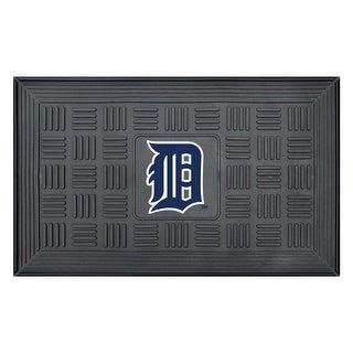 Detroit Tigers Medallion Door Mat