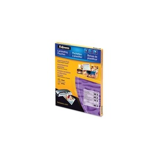 Fellowes Inc. 5208502 Fellowes Laminating Pouch Starter Kit, 130 pack - Laminating Pouch/Sheet Size: 9 Width x 11.50