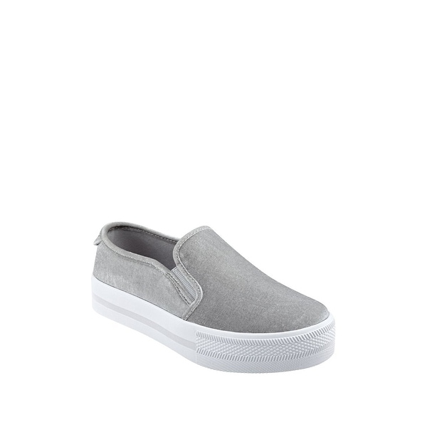 G by Guess Womens Citti Fabric Low Top Slip On Fashion Sneakers