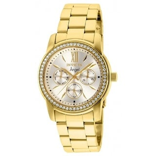 Link to Invicta Women's 28688 'Angel' Invicta Connection Gold-Tone Stainless Steel Watch - Multi Similar Items in Women's Watches