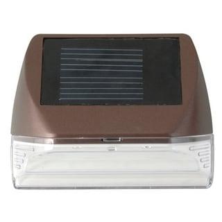 Moonrays 95028 Mini Deck Outdoor Solar Light, Bronze