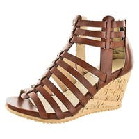Volatile Prominent Women's Wedge Gladiator Sandals