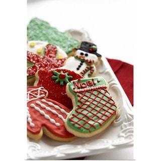 """""""Christmas cookies"""" Poster Print"""
