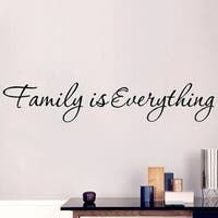 Delicate Wall Quote Family Wall Sticker Vinyl Wall Art Home Decal