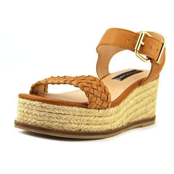 2ccad0f63c3 Shop Steven Steve Madden Sabble Women Open Toe Leather Tan Platform ...