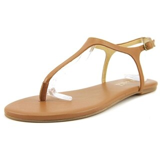 Splendid Mason Women Open Toe Leather Brown Thong Sandal
