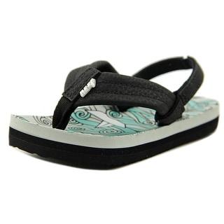Reef Ahi Open Toe Synthetic Flip Flop Sandal