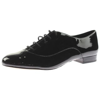 Nine West Womens Zellah Oxfords Patent Formal