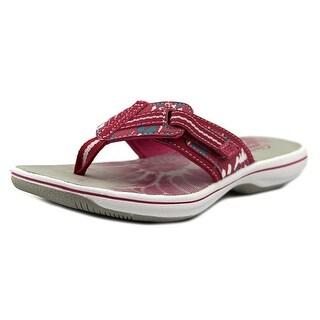 Clarks Brinkley Jazz Women Open Toe Synthetic Flip Flop Sandal