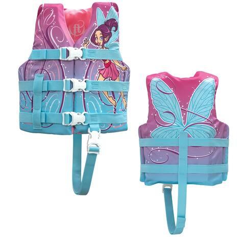 Full throttle child character life vest pixie