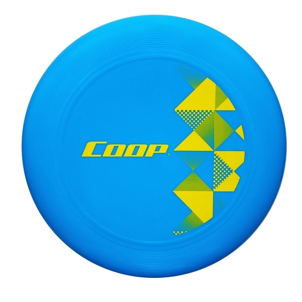 """9"""" Blue and Yellow Chill Wave 110G Water Resistant Flying Disc - N/A"""