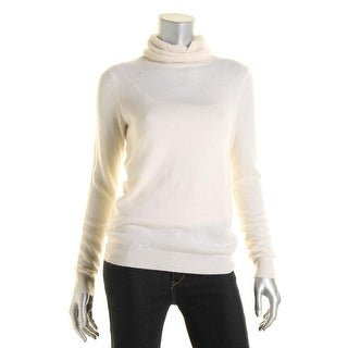 Private Label Womens Cashmere Knit Turtleneck Sweater