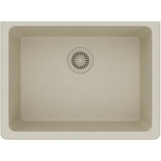 """Elkay ELGU2522 Gourmet 25"""" Single Basin Granite Composite Kitchen Sink for Undermount Installations (More options available)"""