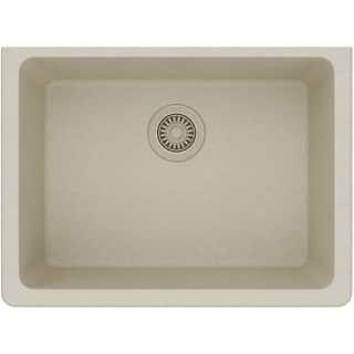 Elkay kitchen sinks for less overstock elkay elgu2522 gourmet 25 single basin granite composite kitchen sink for undermount installations more workwithnaturefo