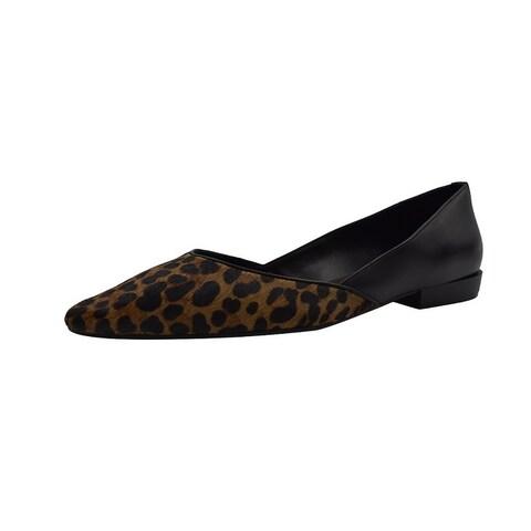 Elie Tahari Carey Leopard D'orsay Shoes