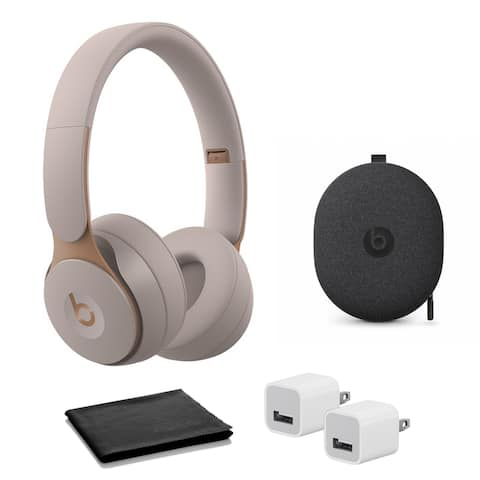 Beats Solo Pro - Grey with USB adapter