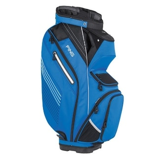 New Ping 2017 Pioneer Golf Cart Bag (Blue / Black / White) - blue / black / white