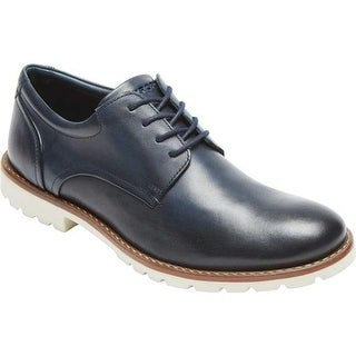 Rockport Men's Sharp & Ready Colben Navy Leather