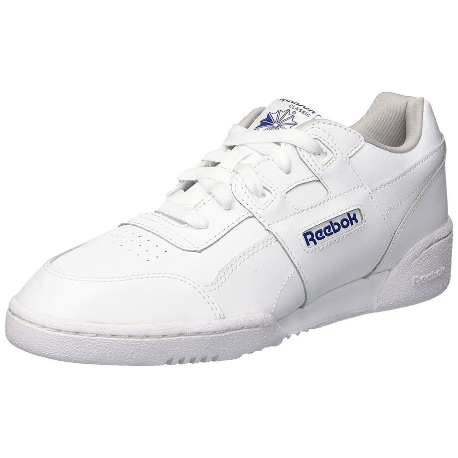 Reebok Kids Girls Cn5541 Leather Low Top Lace Up, White