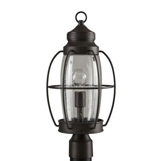 "Park Harbor PHEL2903 West Rock 20"" Tall Single Light Outdoor Post Light"