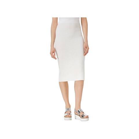 Rachel Rachel Roy Womens Pencil Skirt Jacquard Sweater