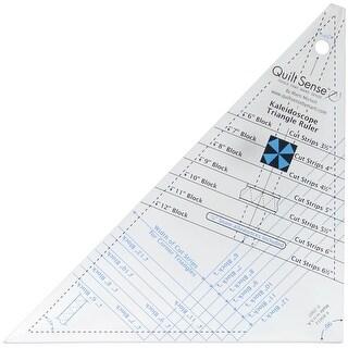 Quilt Sense Kaleidoscope Triangle Ruler-7 Sizes